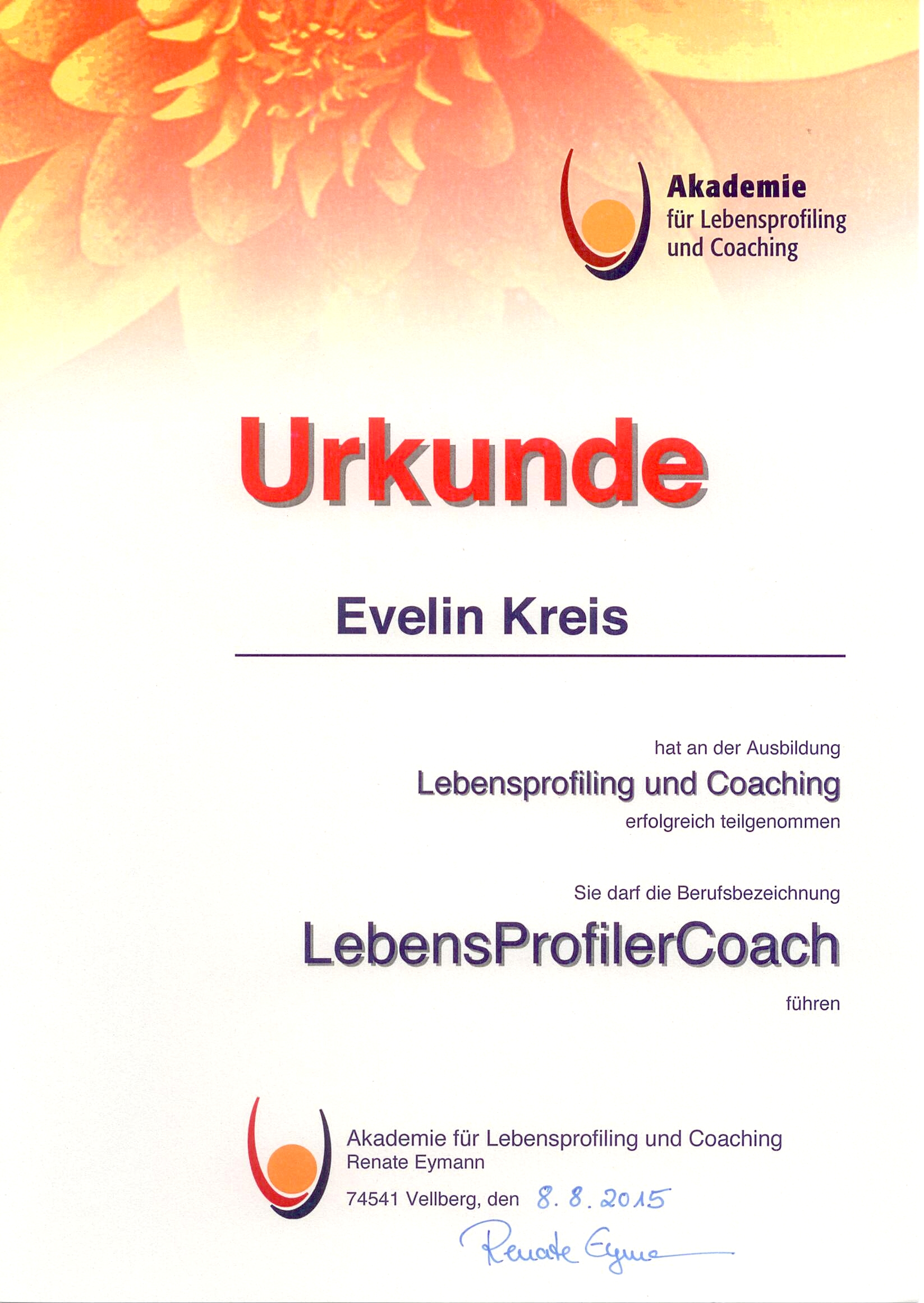 Lebensprofilercoach
